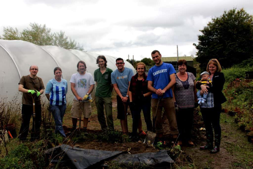 Staff engagement: Helping to organise staff volunteering days
